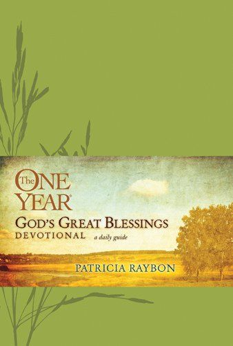 """The One Year God's Great Blessings Devotional by Patricia Raybon. Inspire your journey with """"one of the best"""" of the One Year® Devotional Series, """"God's Great Blessings"""" from award-winning author Patricia Raybon. With her fresh, honest and inspiring style, Patricia takes a courageous 365-day journey through Bible virtues that God blesses."""