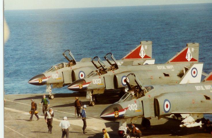 HMS Ark Royal F-4Ks