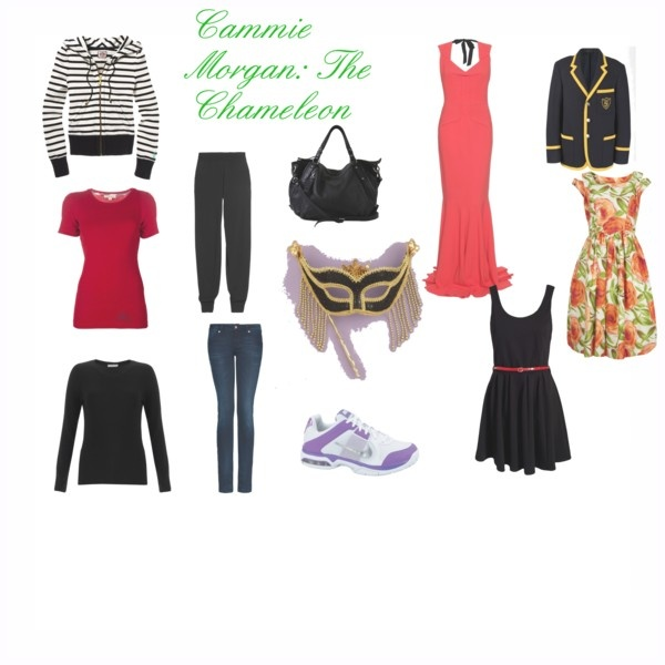 Cammie Morgan The Chameleon From Ally Carter S Gallagher Girls Series Polyvore Pinterest