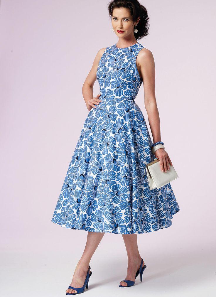 8 Best Sewing Vogue 8788 Dress Images On Pinterest