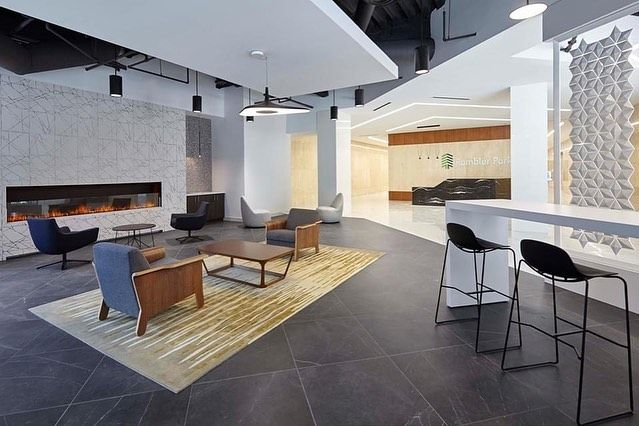Entos Design On Instagram Check Out The New Rambler Park Capital Improvements Which Include A New Tenant Lounge A 2 000 Square Foot F In 2020 Tenants Design Lounge
