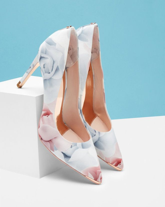Porcelain Rose court shoes - Nude Pink | Shoes | Ted Baker