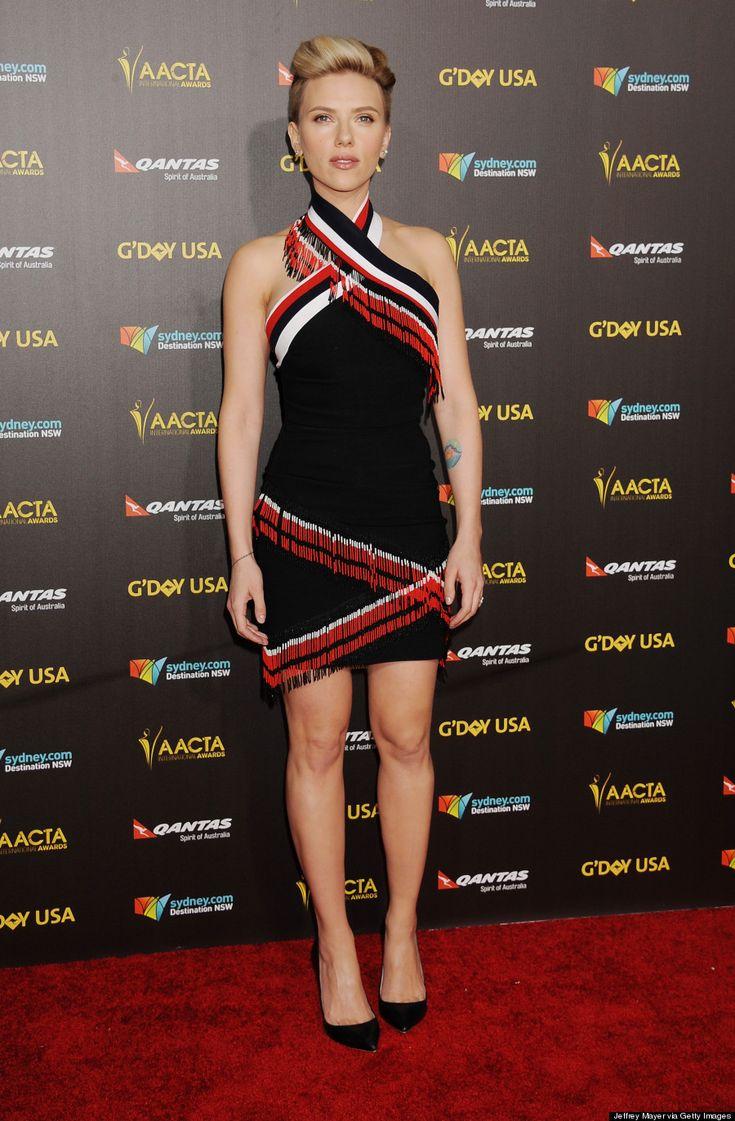 Scarlett Johanssons Razed Undercut Is Glorious | The Huffington Post Canada Style