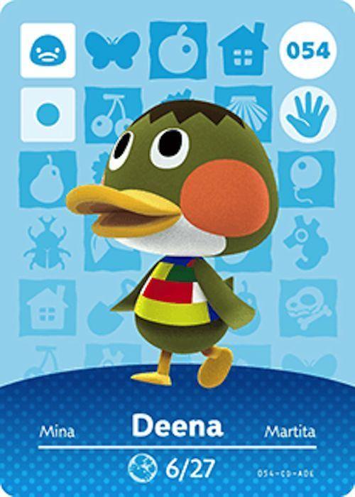 Nintendo Animal Crossing Happy Home Design Deena Amiibo