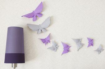 Paper butterflies =)Decor, Crafts Ideas, Beautiful Paper, Kids Crafts, Wall Decal, Butterflies Deco, Diy, Butterflies Templates, Paper Butterflies