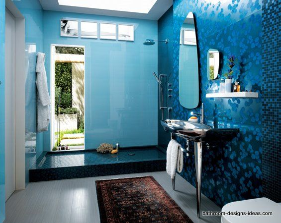 24 Mosaic Bathroom Ideas Designs: 48 Best Images About Pool Themed Bathroom On Pinterest