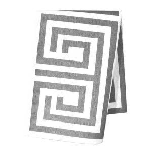 Santorini kitchen towel from Elce