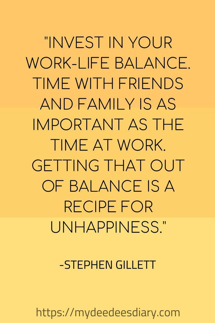 7 Tips To Help You Create A Better Work Life Balance Balancing