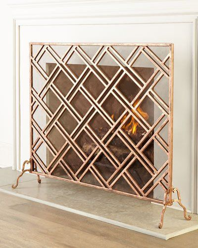 H7B4W Layla Fireplace Screen