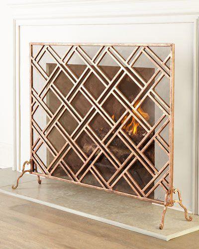 H7B4W Layla Fireplace Screen