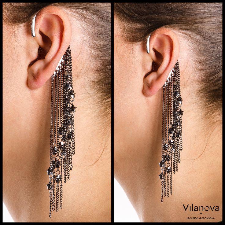 Star(t) your week up! #vilanova #vilanova_accessories #earcuff #jewelry #happymonday