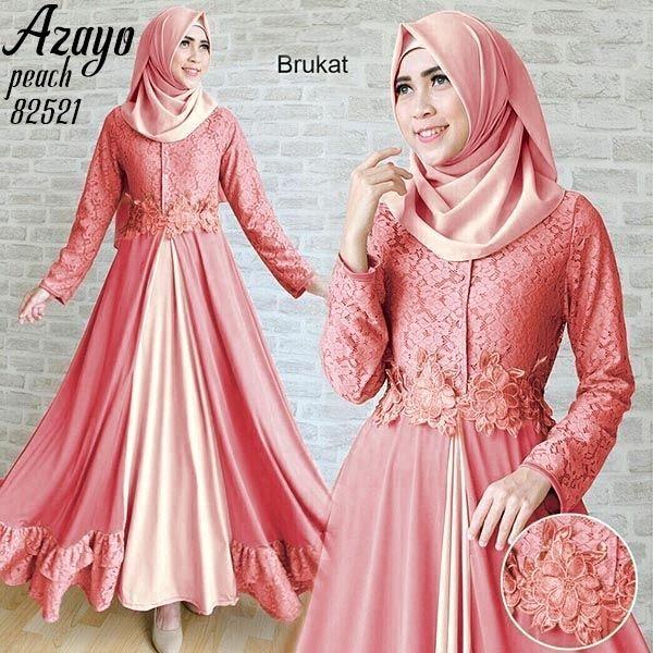 azayo dusty Rp132rb maxi tgn pjg busui kancing, pinggang blkg karet, spandex korea kombi brukat, TANPA pashmina, ld 94 pjg 138 lb 300 berat 700gram  contact us  FB fanpage: Toko Alyla  line@: @alylagamis  WA: 0812-8045-6905    toko online baju muslim  gamis murah  hijab murah  supplier hijab  konveksi gamis  agen jilbab