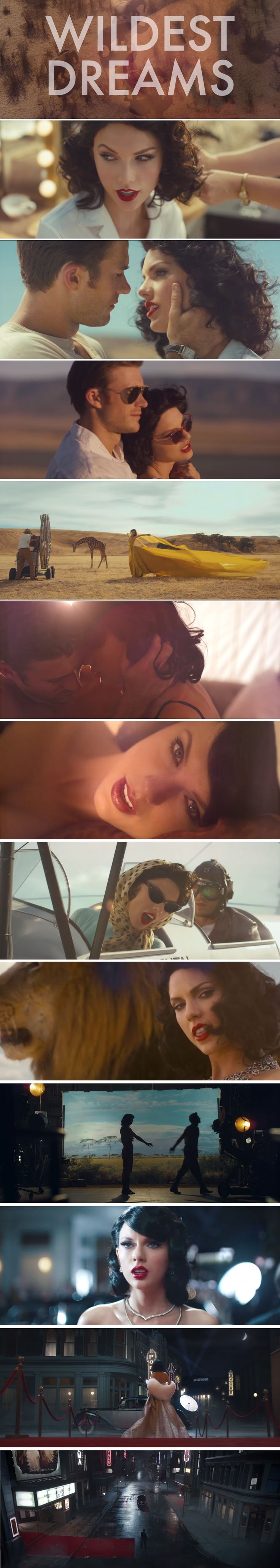 "Taylor Swift dropped her new music video for ""Wildest Dreams"" at the MTV VMAs!"