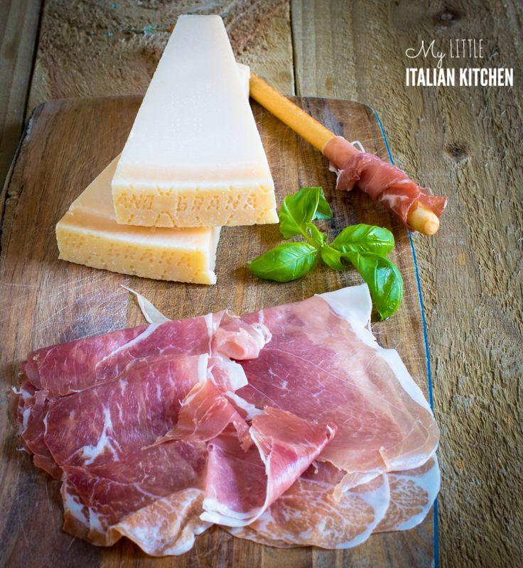 Prosciutto di San Daniele and Grana Padano Frittata