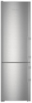 "CBS1360L 24"" Energy Star Rated Bottom Freezer Refrigerator with 11.9 cu. ft. Capacity Ice Maker Duo Cooling Bio Fresh No Frost System and SuperCool in Stainless Steel"
