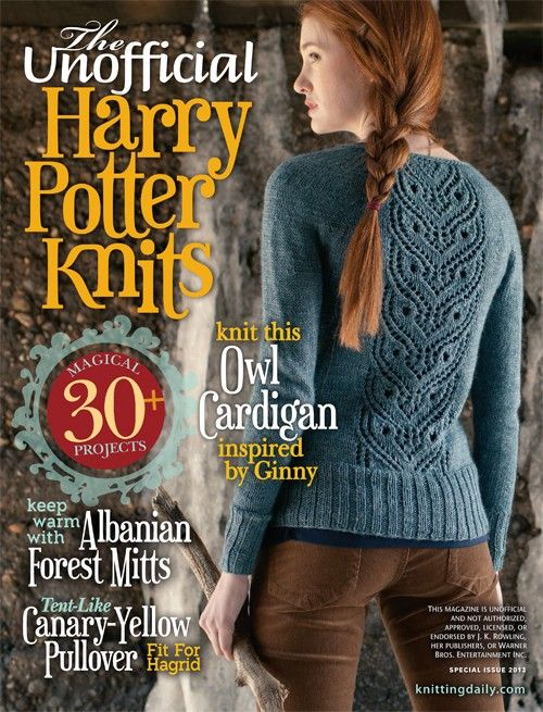 The Unofficial Harry Potter Knits: 30+ Knitting Patterns | InterweaveStore.com - Cool!