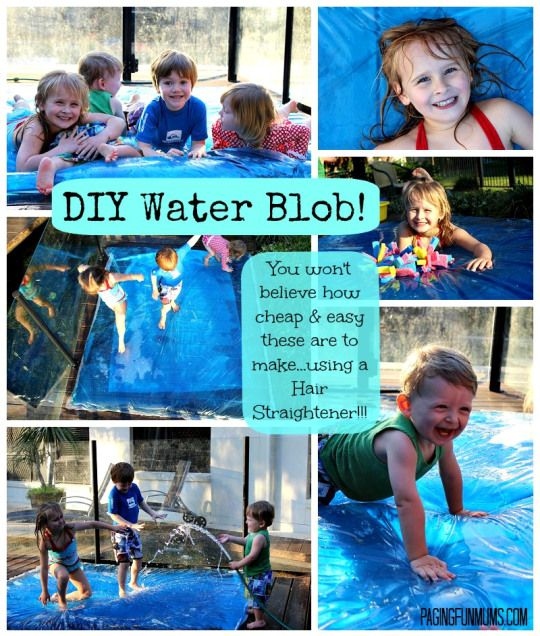 DIY Water Blob - A Giant Sensory Water Bubble!