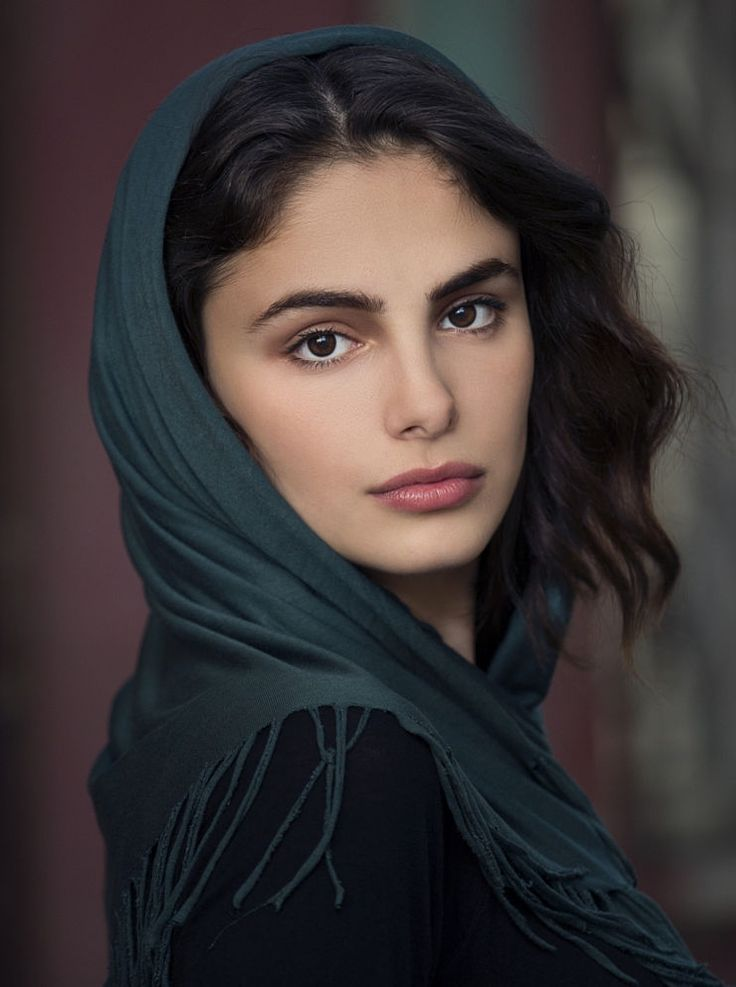 Young Turkish Woman - By Serdar Sertce With Images  Woman Face, Portrait, Beautiful Face-7797