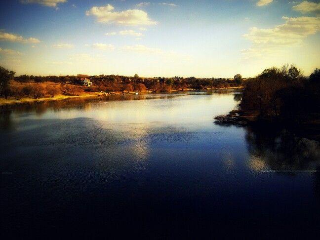 Vaal River, near Bothaville