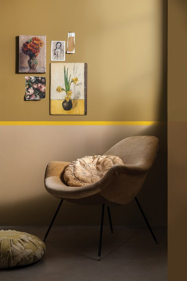 Cherished Gold Tops Dulux Colour Charts | Homegirl London - dulux colour charts, cherished gold, sitting room