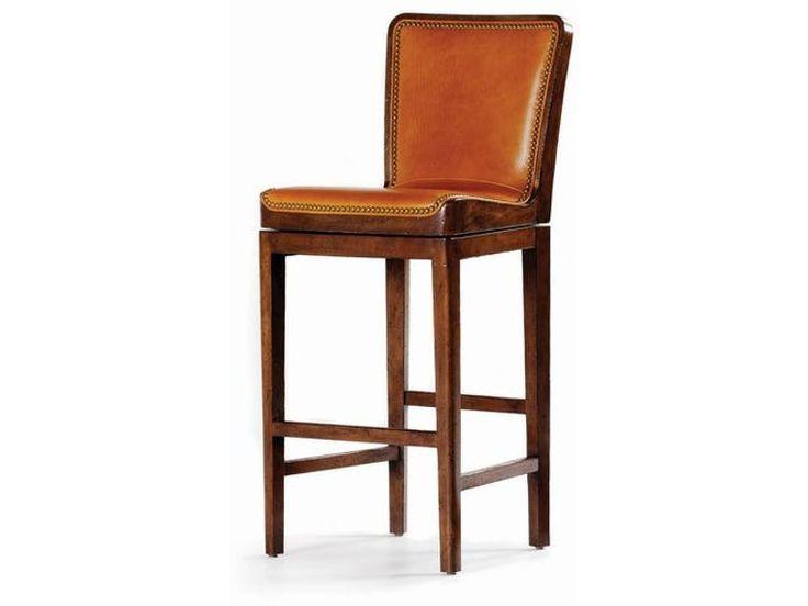 Hancock and Moore Mirad Swivel Barstool 149-30 from Walter E. Smithe Furniture + Design