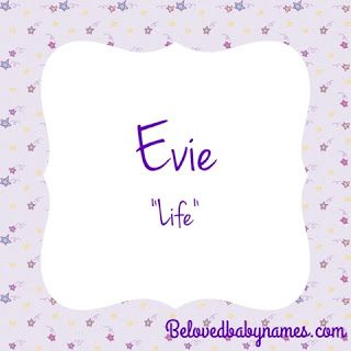 Beloved Baby Names: Ways to Get to Evie