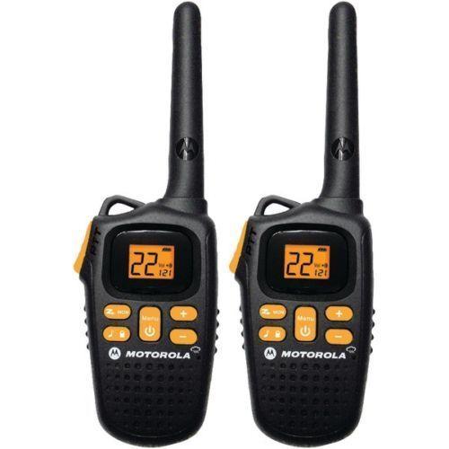 Motorola 20 Mile 2 Way Radio With NOAA Weather MD207R 22 Channels 11 Weather New #Motorola