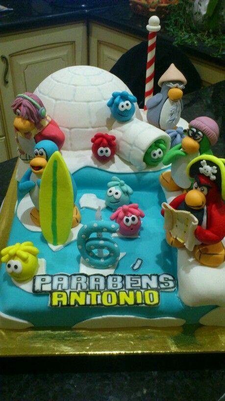 Clube pinguim cake