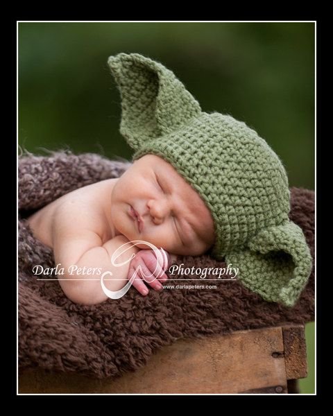 Yoda Baby Beanie Crochet Pattern Pakbit For
