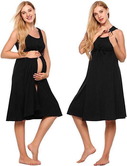 7347abeb4ab Ekouaer Labor Nightgown For Women