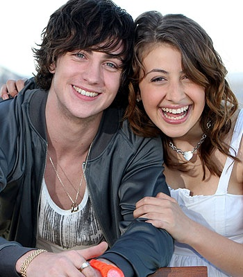 Aaron Johnson and  Georgia Groome