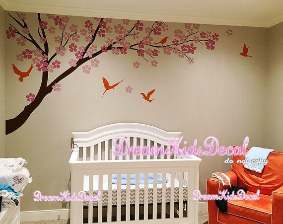 Árbol de pared calcomanía pegatina bebé por DreamKidsDecal en Etsy