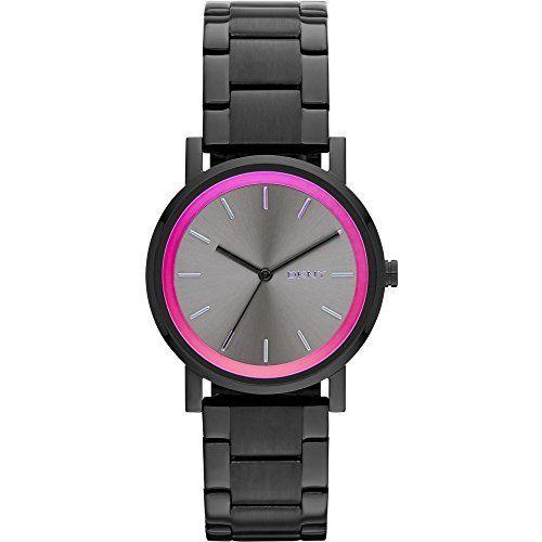 DKNY NY2265 - Reloj de cuarzo para mujer, correa de acero inoxidable color negro, http://www.amazon.es/dp/B00OKFIM6K/ref=cm_sw_r_pi_awdl_WeaOub0GRPKBS
