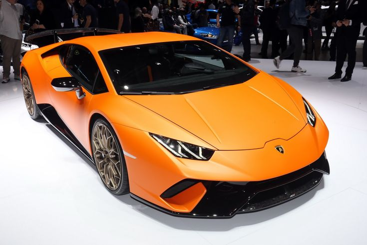 Hail To The Lamborghini Huracan Performante