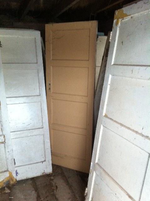 Original 1950s 4 Panel Doors