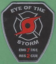 SUNRISE FLORIDA STATION 7 COMPANY FIRE RESCUE PATCH