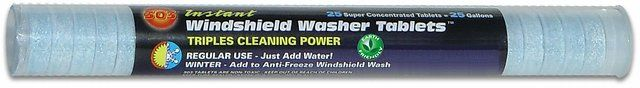 303 Instant Windshield Washer (5 Tablet) $7.90 (amazon.com)