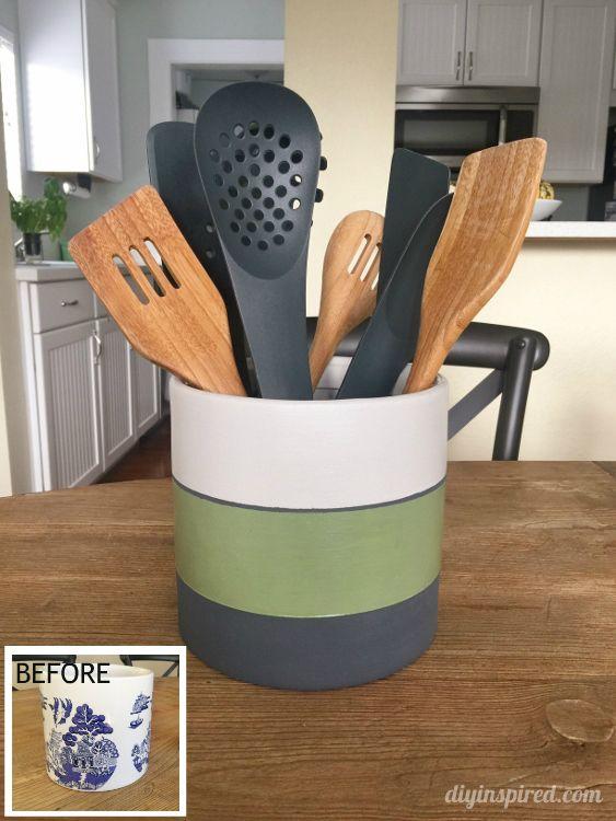 Kitchen Utensil Holder Ideas