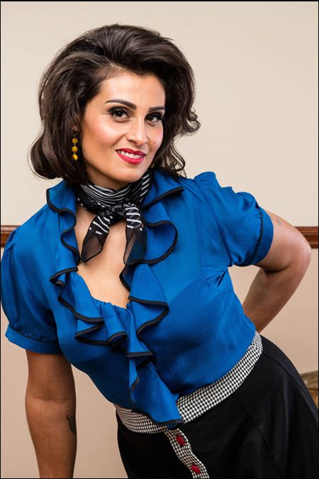 Romana Ruffle Blouse Purchase: http://sprinkleemporium.bigcartel.com/product/romana-ruffle-blouse