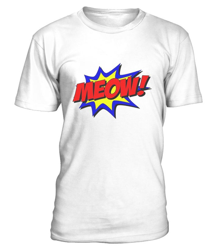 Cute Cat Superhero Meow T shirt  Funny Cute T-shirt, Best Cute T-shirt