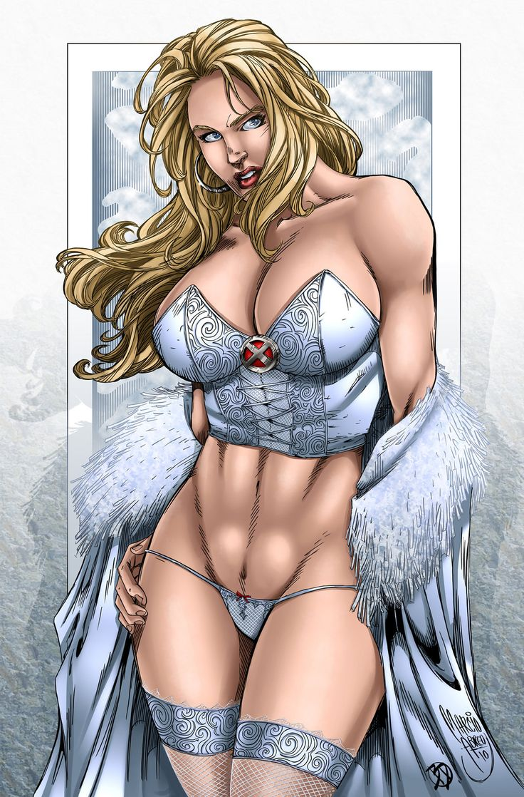 comics girls emma frost - photo #1