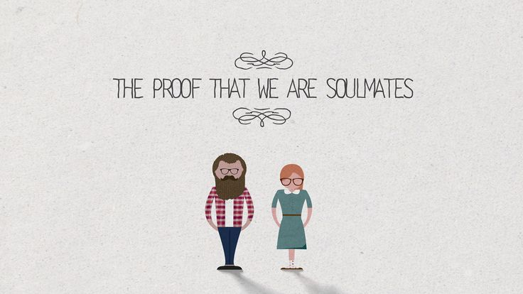 The proof that we are soulmates. Share this video with your soulmate!  Written by Drake Martinet http://www.withdrake.com Illustration and Animation by Emanuele Colombo http://www.emanuelecolombo.it Music: Monday - Jon Brion  Some week ago I found on Visual.ly this amazing infographic written by Drake Martinet: http://visual.ly/proposal-infographic I asked Drake the permission to realize an animated version, and this is the result. Hope you like it!  This project does not have any kind of…