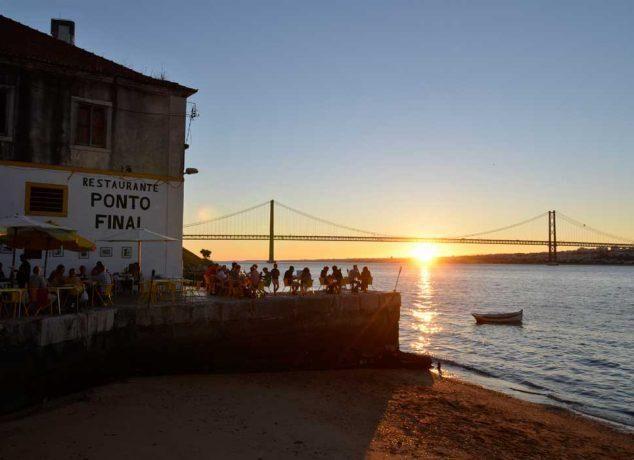 Lisboa: 10 restaurantes ideais para ver o pôr do sol