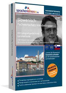 Slowenisch lernen Lernen Sie Slowenisch themenbezogen, zielgerichtet und schnell - mit dem nach Fachbereichen und Themen sortierten Vokabeltrainer