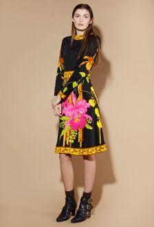 Shop Vintage | 1970s Floral Border Print Dress