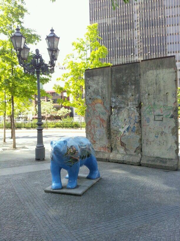 #Berlin wall in Seoul