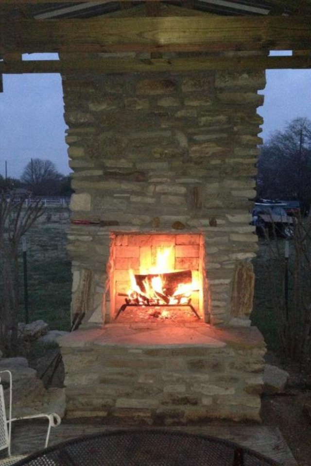 17 best images about patio fireplace on pinterest outdoor patios hearth and patio - Cozy outdoor living spaces connecting mother nature ...