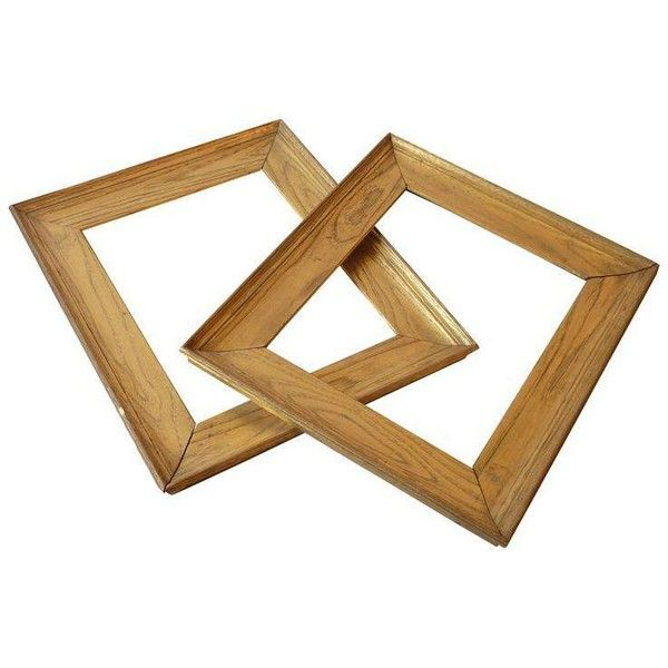 golden chestnut frames a pair 300 aud liked on polyvore featuring home