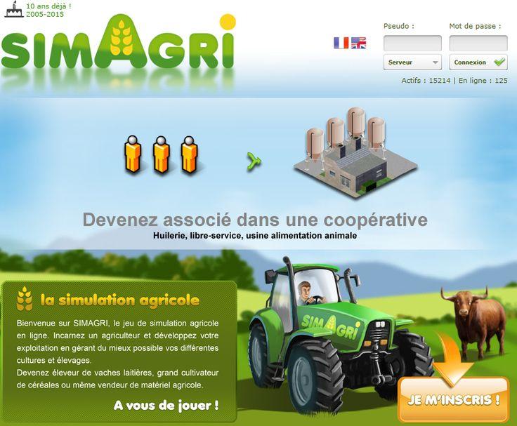 Simagri un jeu de simulation agricole en ligne #SIA2015