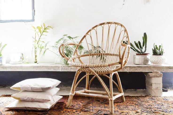 Tiretta living, muebles de caña artesanales • Volgende halte